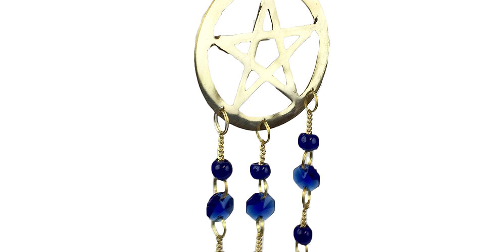 Small Pentacle Wind Chime