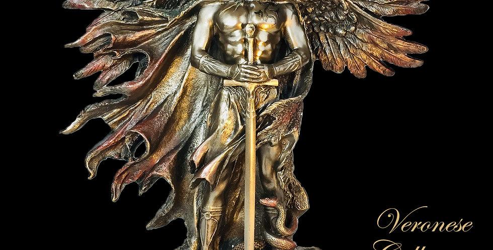 Six Winged Seraphim Bronze Statue: Veronese Collection