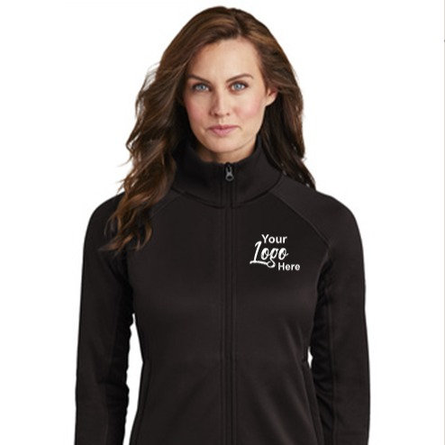 Custom Embroidered North Face LadiesTech Full-Zip Fleece Jacket