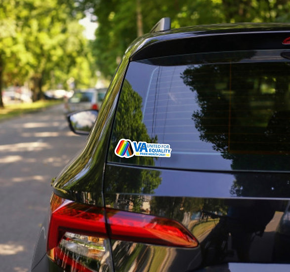 VA Pride Month Decal