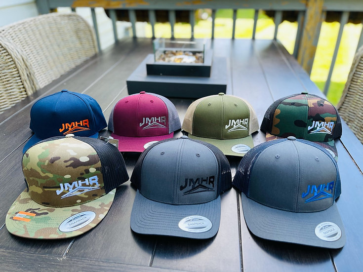 Custom Embroidered Snap-back Trucker hats