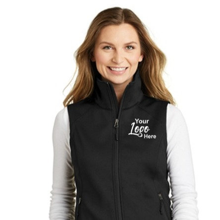 Custom Embroidery Ladies North Face Vest