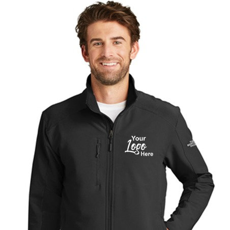 Custom Embroidered North Face Jacket- Lightweight- Softshell- Tech Stretch