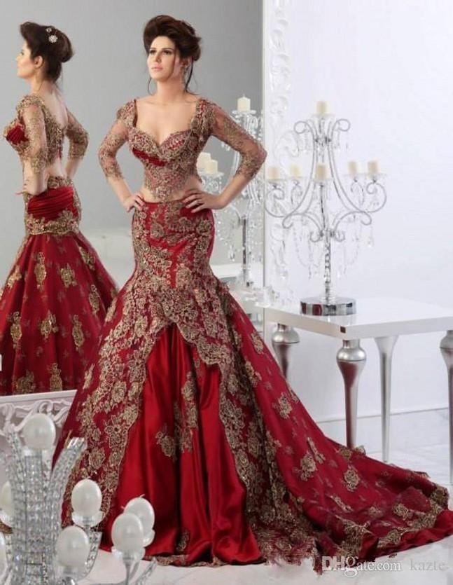 first-wedding-two-piece dress