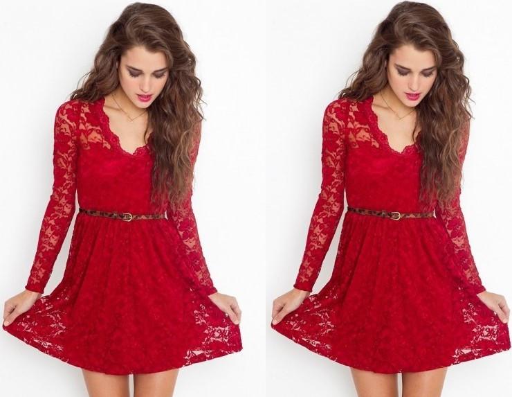 First-wedding-red-honeymoon-dress