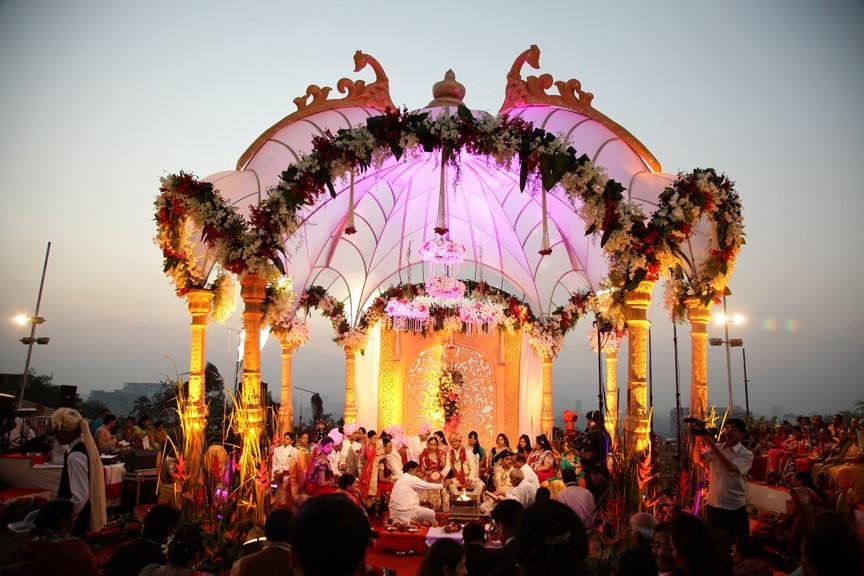Wedding-mandap
