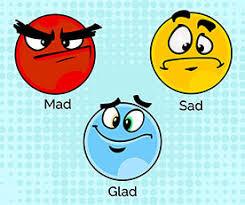 Glad / Sad/ Mad