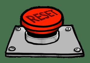 Et si nous appuyions sur le bouton Reset?