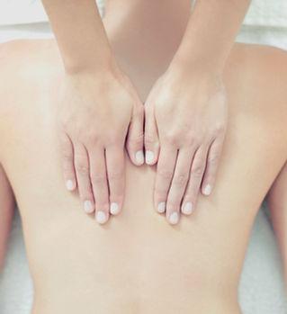 Rygg massage