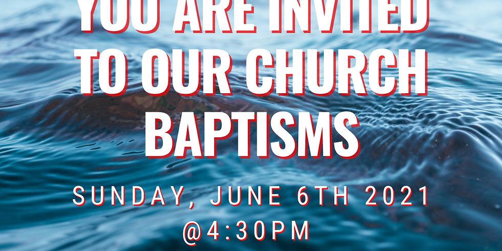 Church Baptisms