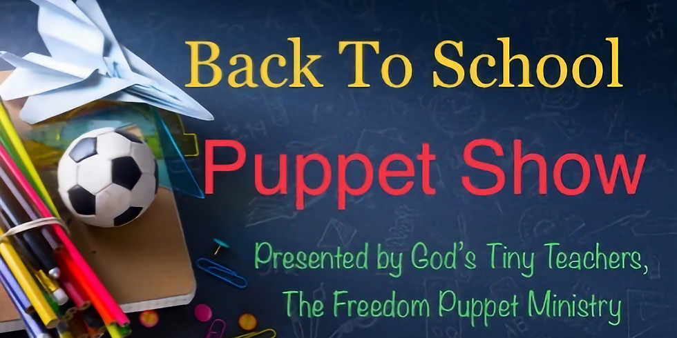Kids Back To School Puppet Show