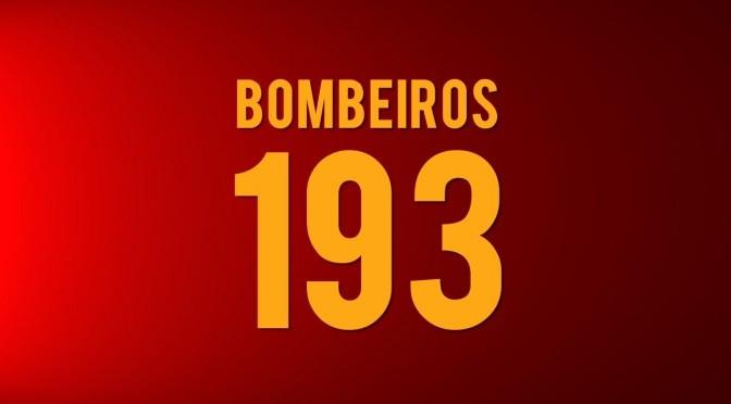 Bombeiros socorreram 1674 pessoas no primeiro semestre de 2016