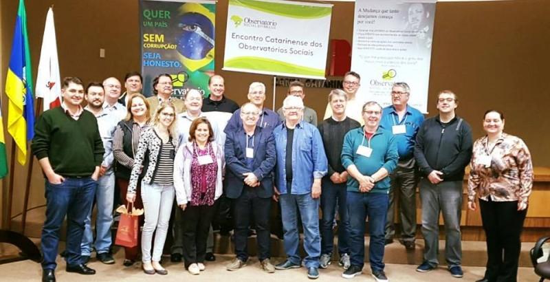 OSBr participa de encontro estadual em Rio do Sul