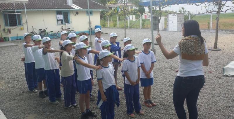 Mais de 400 crianças de Guabiruba são Observadoras Mirins
