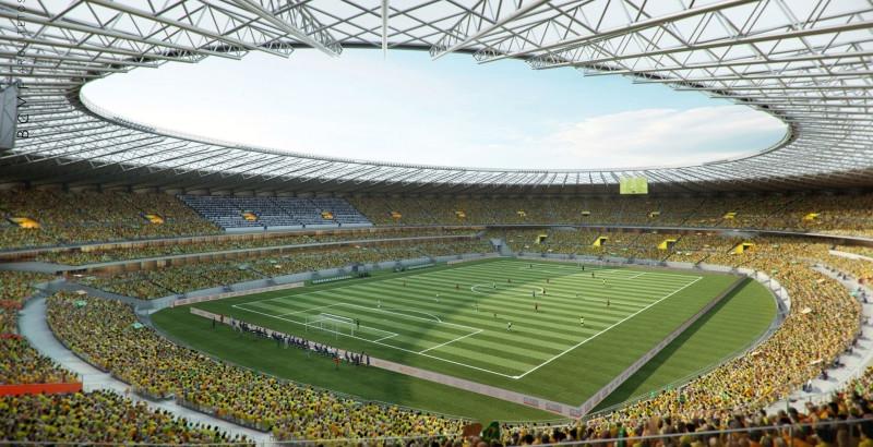 Entidade questiona construção do estádio de futebol em Blumenau