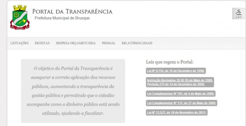 Confira os recursos públicos repassados pela Prefeitura Municipal de Brusque no ano 2013 às ONG's