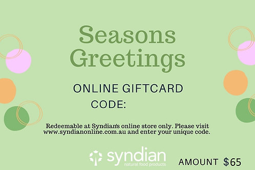 Syndian Online Gift Card