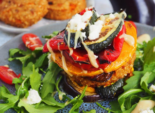 Vegan Burger Stack Recipe - Guest post by @sydneyveganguide
