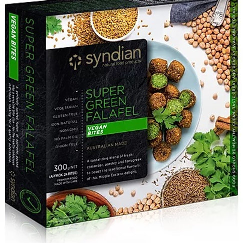 Super Green Falafel Bites