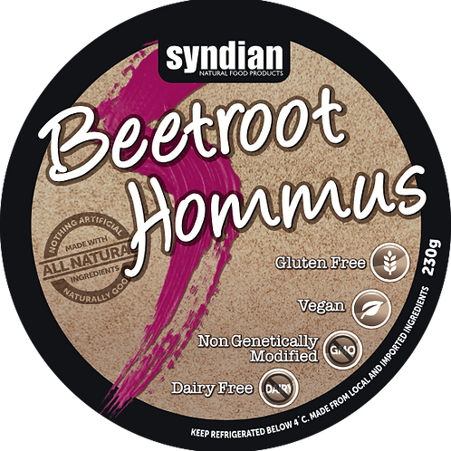 Beetroot Hommus