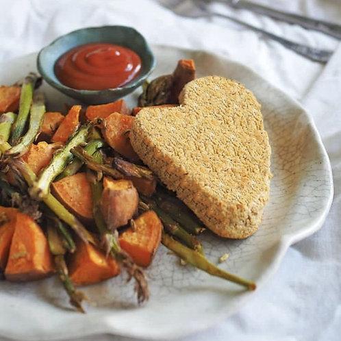 Smokey Black Bean Crumbed Schnitzel 400g (4 Pieces)