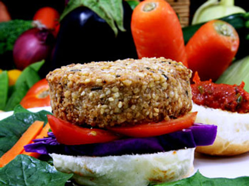 Mediterranean Wholegrain Burgers
