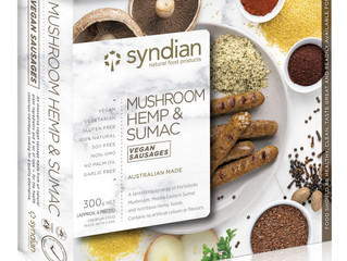 NEW PRODUCT: Mushroom, Hemp & Sumac Sausages!