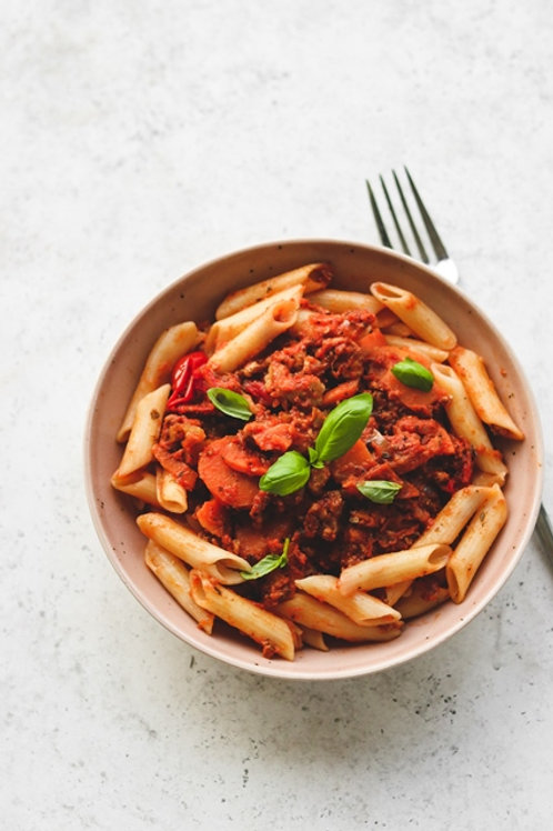 Bolognese & GF Penne Pasta