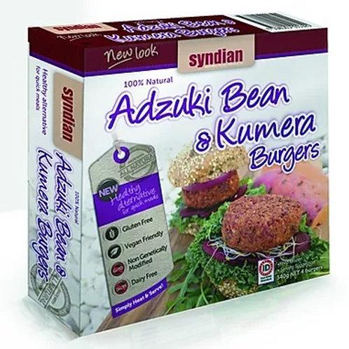 Adzuki & Kumera Burgers