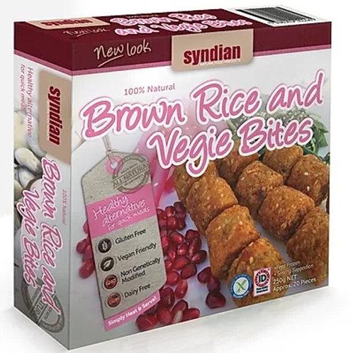 Brown Rice and Vegie Bites