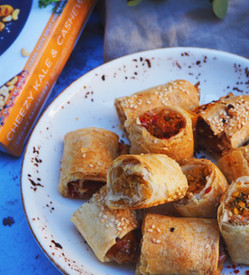 Sausages Rolls Recipe / CELEBRATING COLES RELEASE - Guest post by @sydneyveganguide