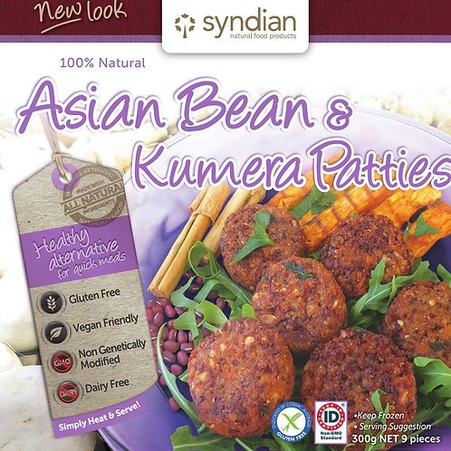 Asian Bean & Kumera Patties