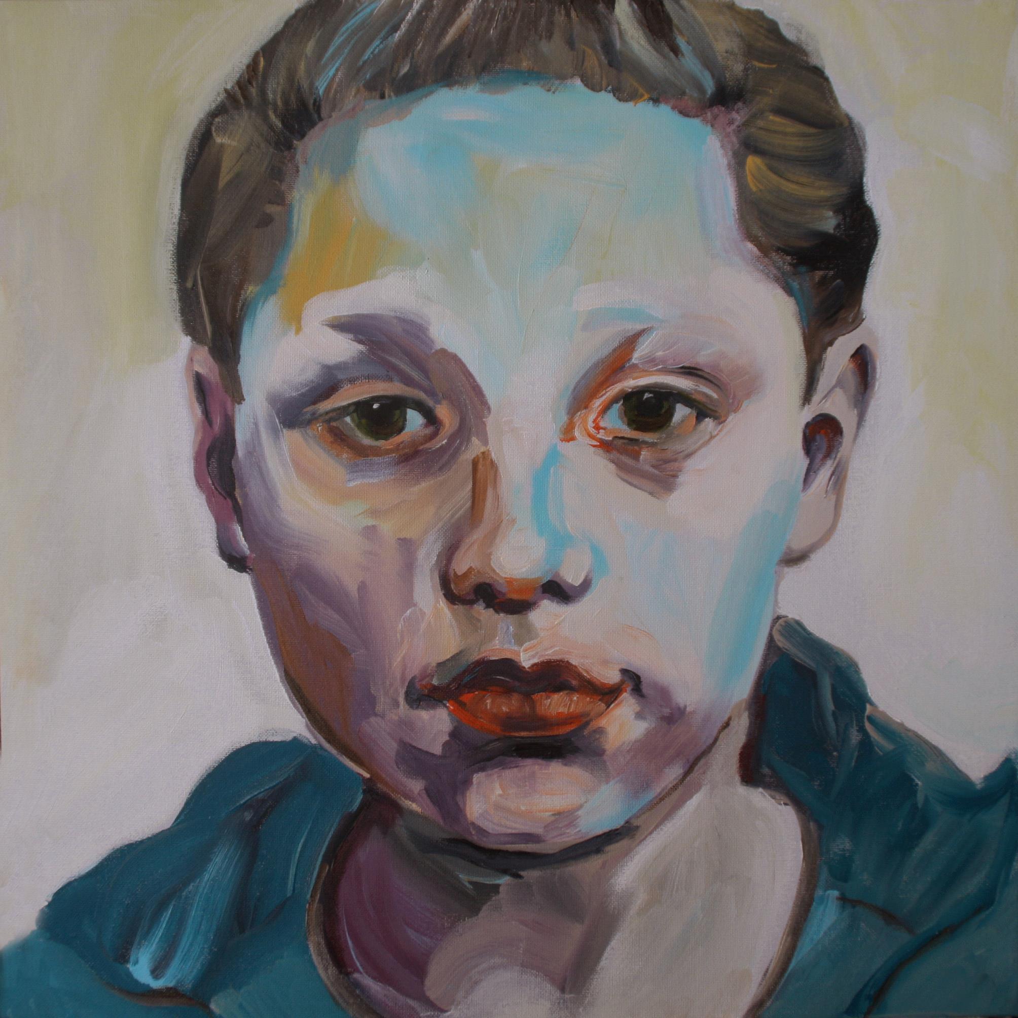 Portretschilderij Luc