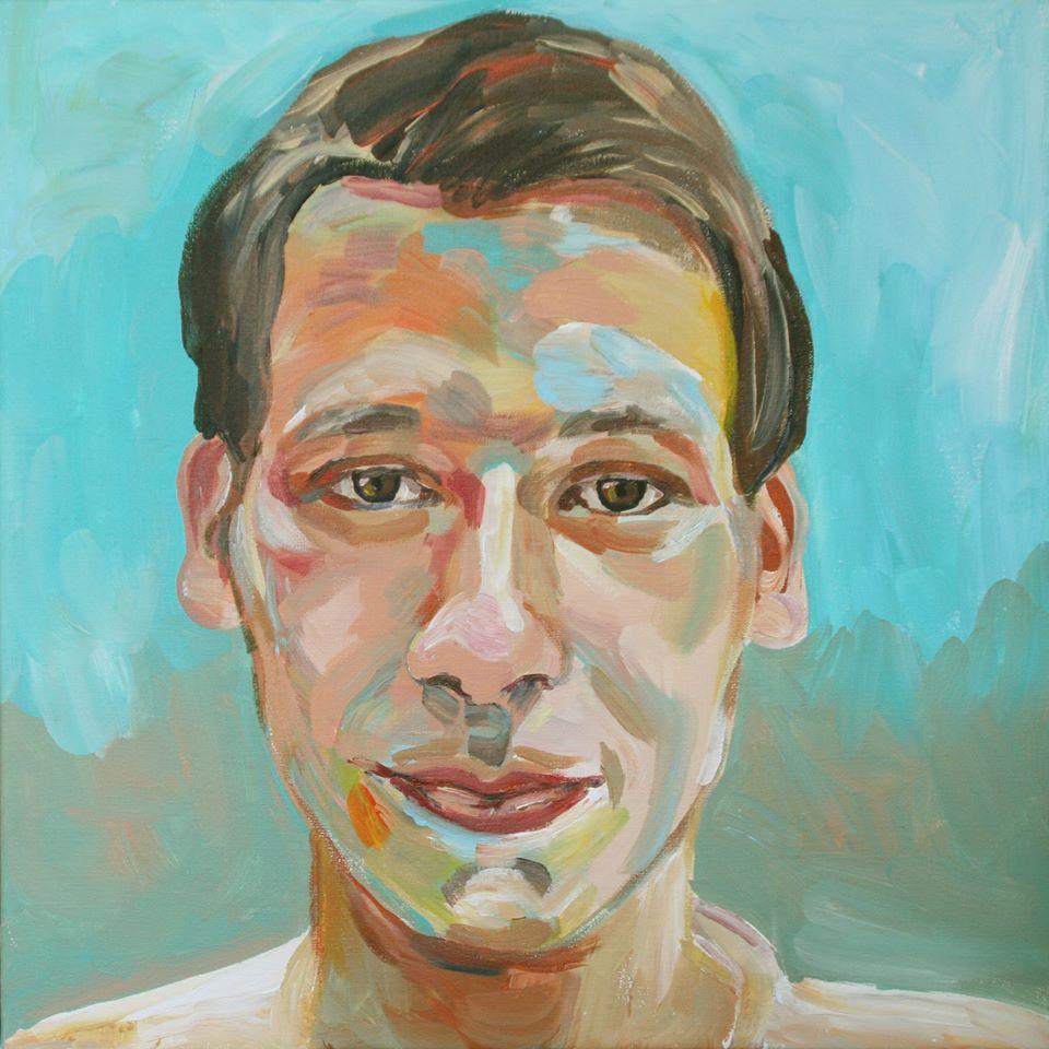 Portretschilderij Arend