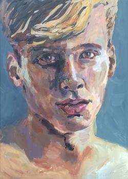 Portretschilderij Daniël