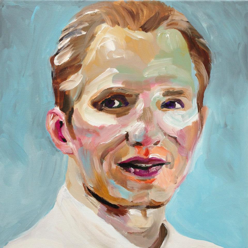 Portretschilderij Mark