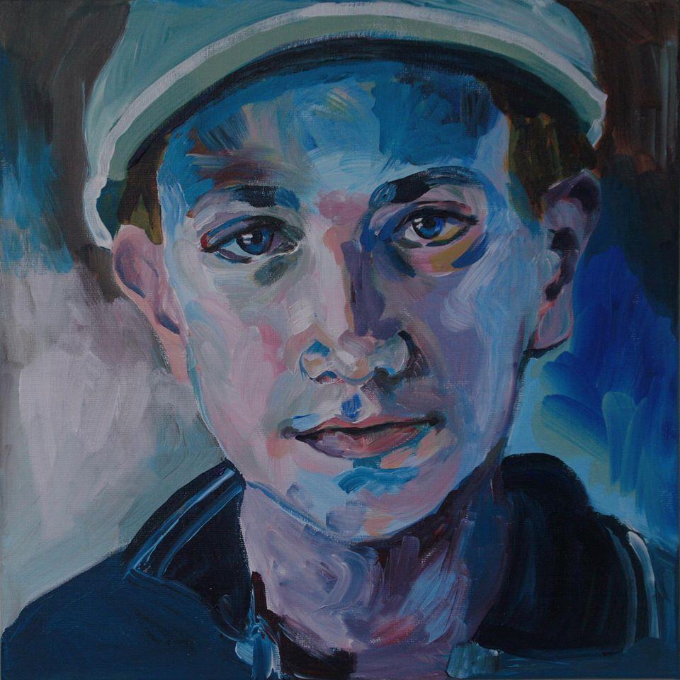 Portretschilderij Brian
