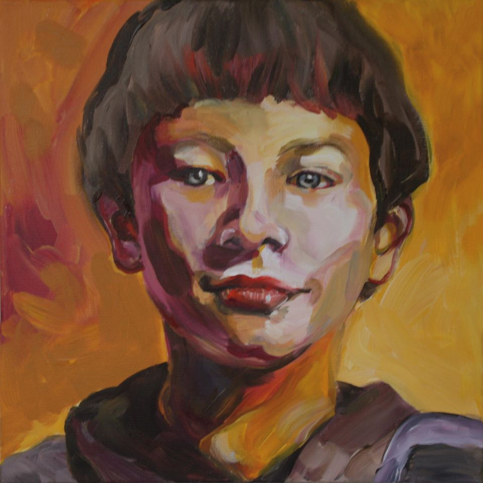 Portretschilderij Sacha