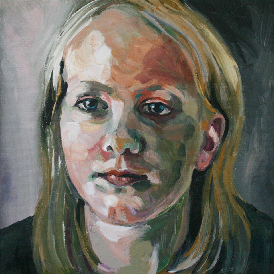 Portretschilderij Sam