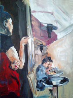 Schilderij Parijs