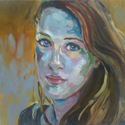 Portretschilderij Martha
