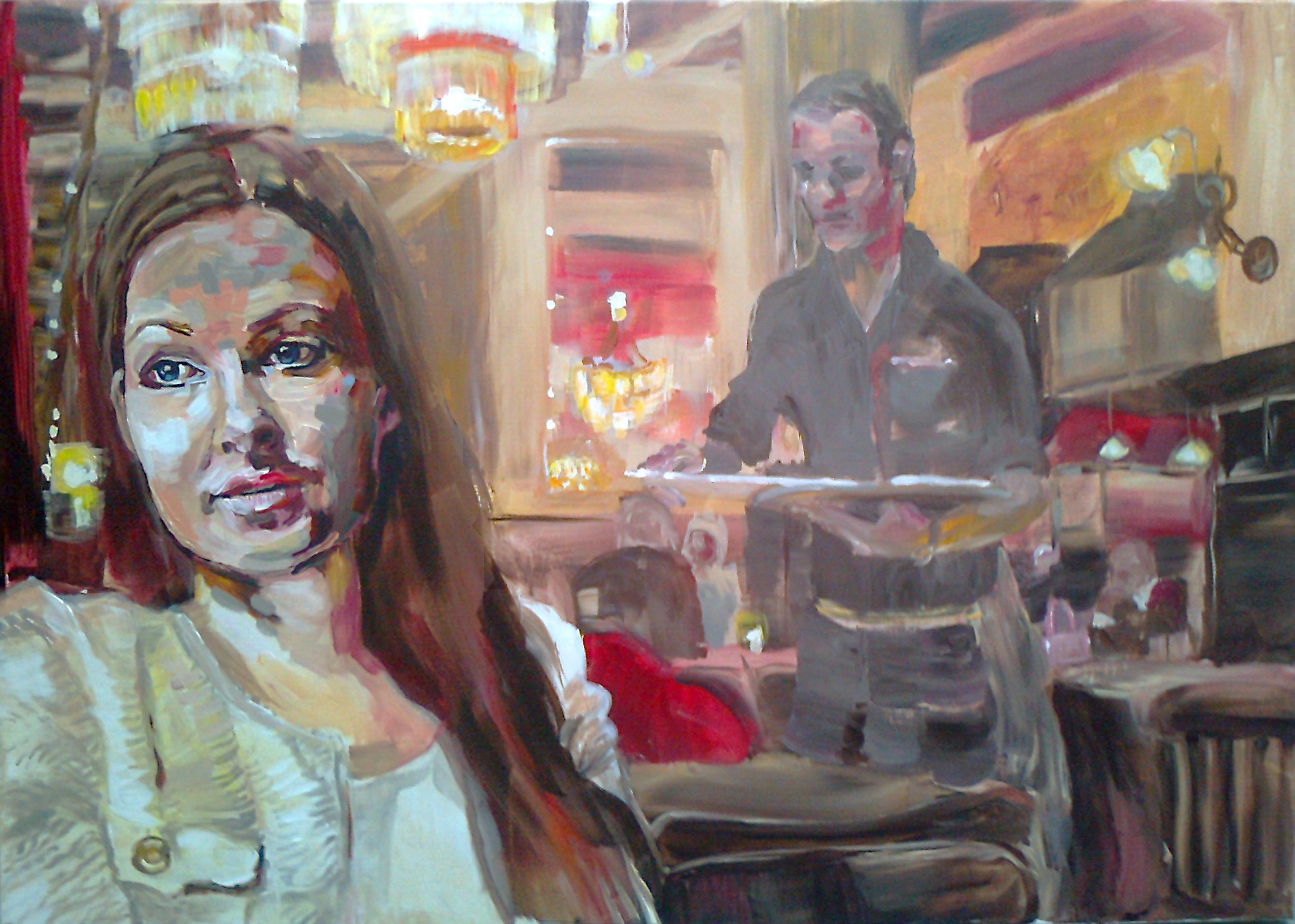 Schilderij Brinkman 1