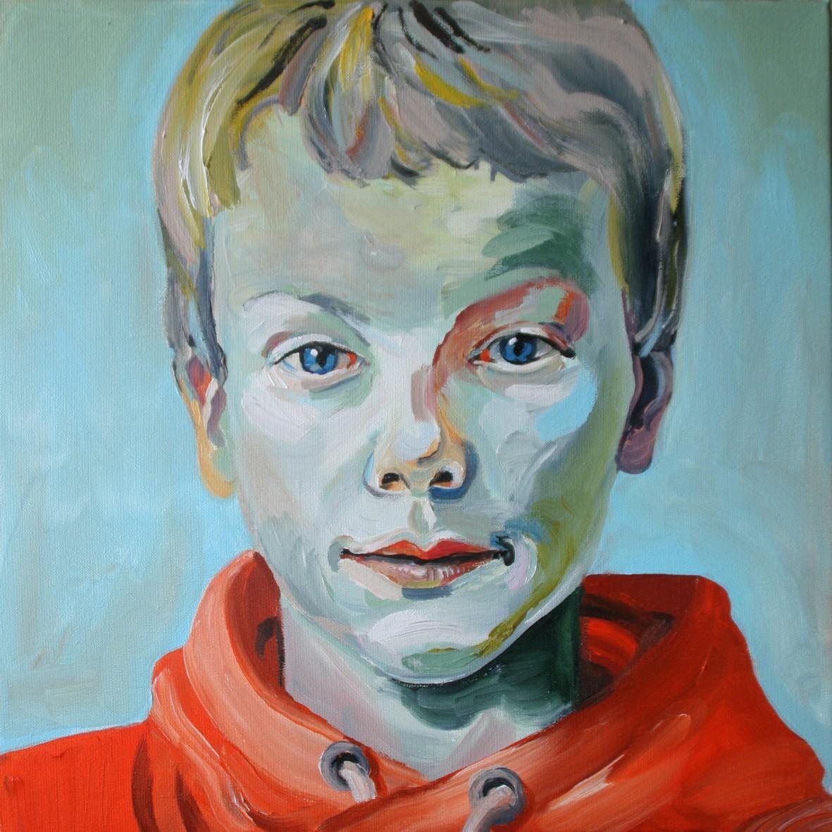 Portretschilderij Daan