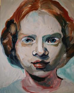 Portretschilderij Maria