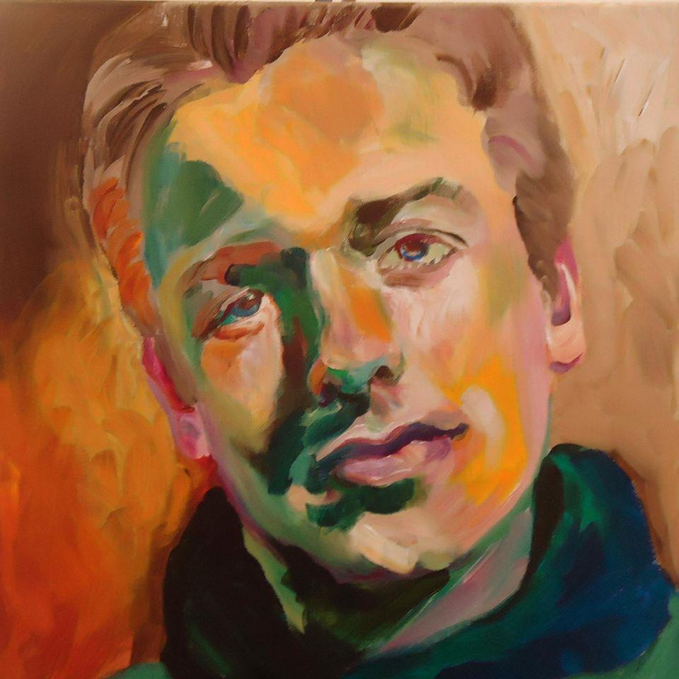 Portretschilderij Michéle