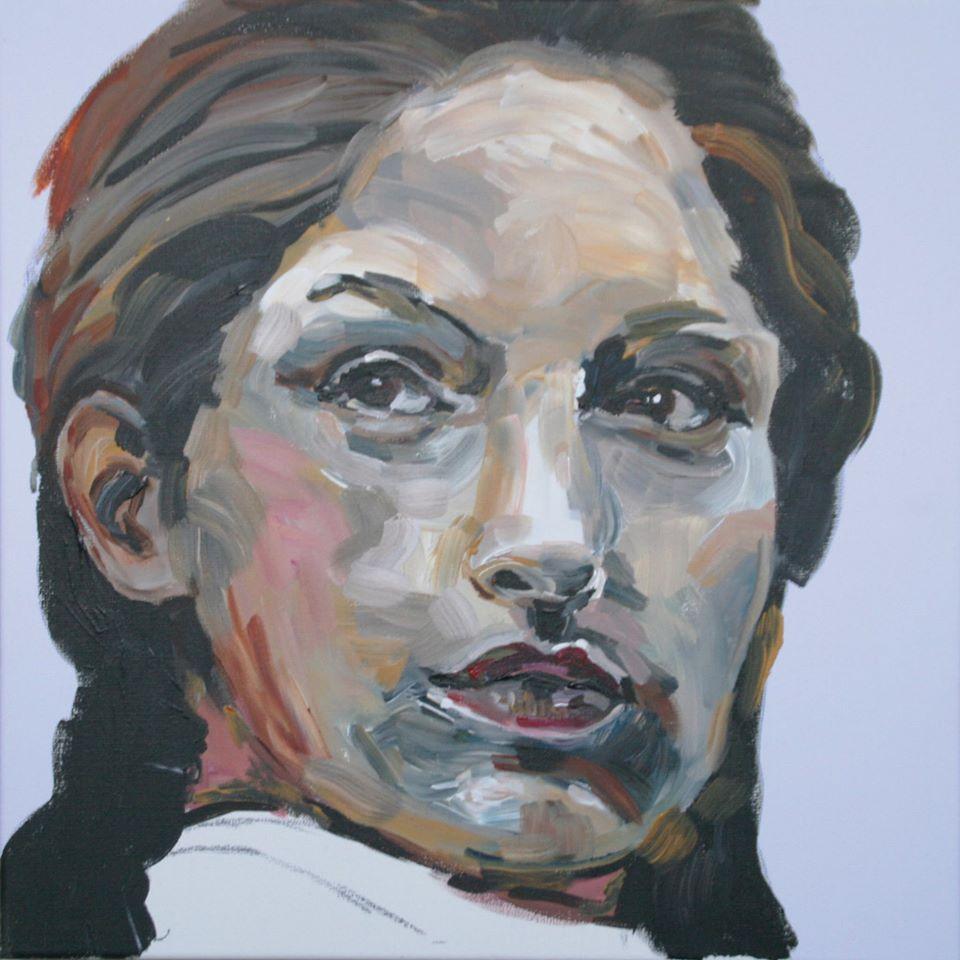 Portretschilderij Martine