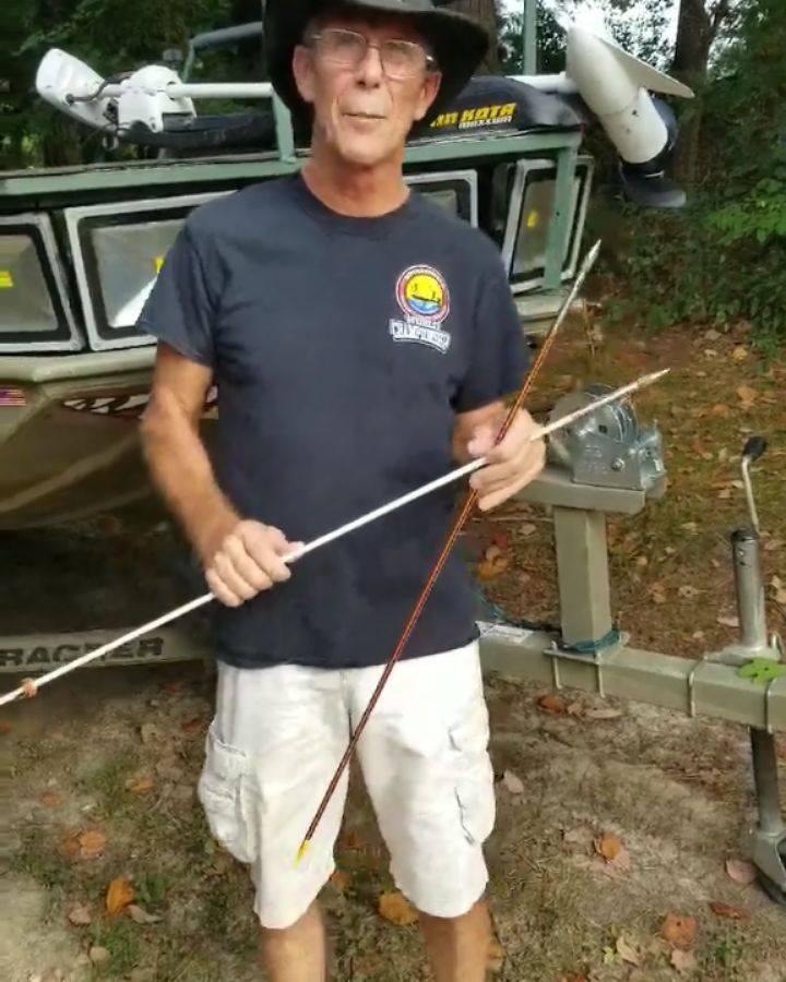 The Detonator bowfishing point
