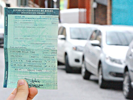Detran. SP informa valor da taxa de licenciamento de veículos usados para 2021
