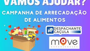 Move Experiências promove campanha de arrecadação de alimentos