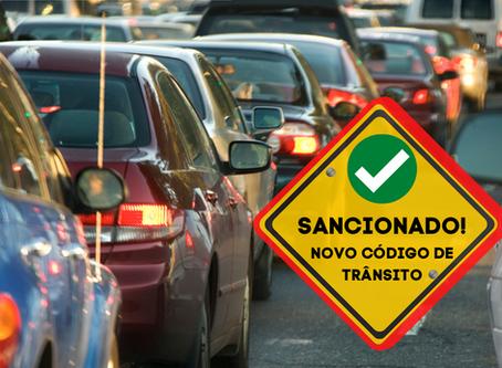 Presidente sanciona lei de alteração para regras do Código de Trânsito